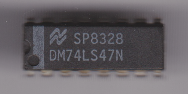 Lot Of 4 National Semiconductor DM74LS368N Integrated Circuit